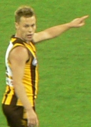 Sam Mitchell (footballer) - Mitchell during the 2007 AFL season