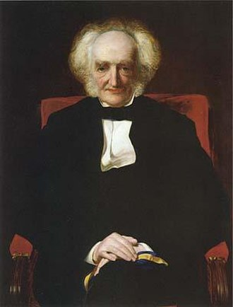 Eastern Union Railway - Portrait (1874), of Sir Samuel Bignold (1791–1895), by Frederick Sandys (1829–1904)
