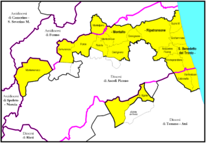 Roman Catholic Diocese of San Benedetto del Tronto-Ripatransone-Montalto - Image: San Benedettodel Tronto diocesi