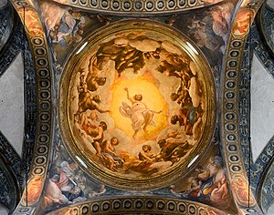 Vision of St. John on Patmos - Image: San Giovanni Evangelista (Parma) Dome