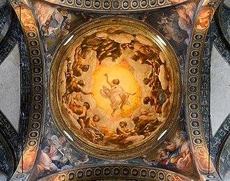 Vision of St. John on Patmos - Image: San Giovanni Evangelista (Parma) Dome