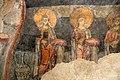 San lorenzo in insula, cripta di epifanio, affreschi di scuola benedettina, 824-842 ca., teoria di sei sante in costume bizantino, 08.jpg