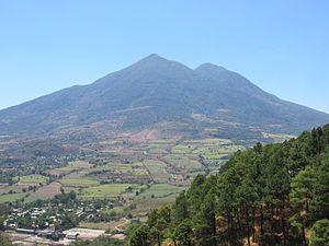 San Vicente (volcano) - San Vicente in 1994