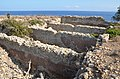 Sanctuary of Diktynna (Diktynnaion), 4 Roman cisterns may lie the site of an earlier late 7th century BC temple, Kisamos district, Crete (35210922235).jpg