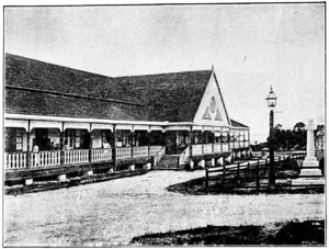 North Borneo Chartered Company - The company administration building in Sandakan.