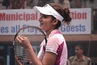 Sania Mirza - Sania Mirza at the 2006 Bangalore Open