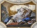 Santa Maria del Rosario (Venice) Nave ceiling by Tiepolo - The Virgin Appearing to St Dominic.jpg
