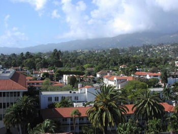 Santa barbara from courthouse tower