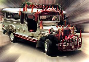 Sarao Motors - A 1988 Sarao Motors jeepney