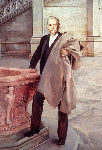 Richard Morris Hunt - Richard Morris Hunt, John Singer Sargent, 1895