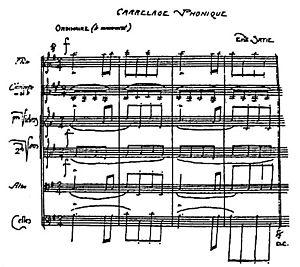 Furniture music - Furniture music: «Carrelage Phonique», 1917