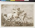 Satyr Leading a Centaur, Who Carries a Club, Bow and Quiver, Outside the Walls of a City MET RLC52.jpg