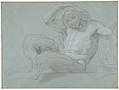 Satyr Reclining on a Ledge, Facing Right (recto); Satyr Reclining on a Ledge, Facing Left (verso) MET DP810086.jpg