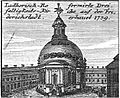 Schleuen - Luthersich-Reformierte Dreifaltigkeits-Kirche 1757.jpg