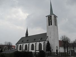 St. Ursula Church in Schloß Holte
