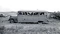 School bus loaded with children to help in harvesting crops, Wasco County, ca. 1943 (5687464813).jpg