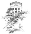 School of Medicine, the University of Pittsburgh, by E. W. Boyer.png
