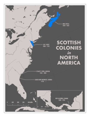 Scottish colonization of the Americas - Scotland's colonies in North America.