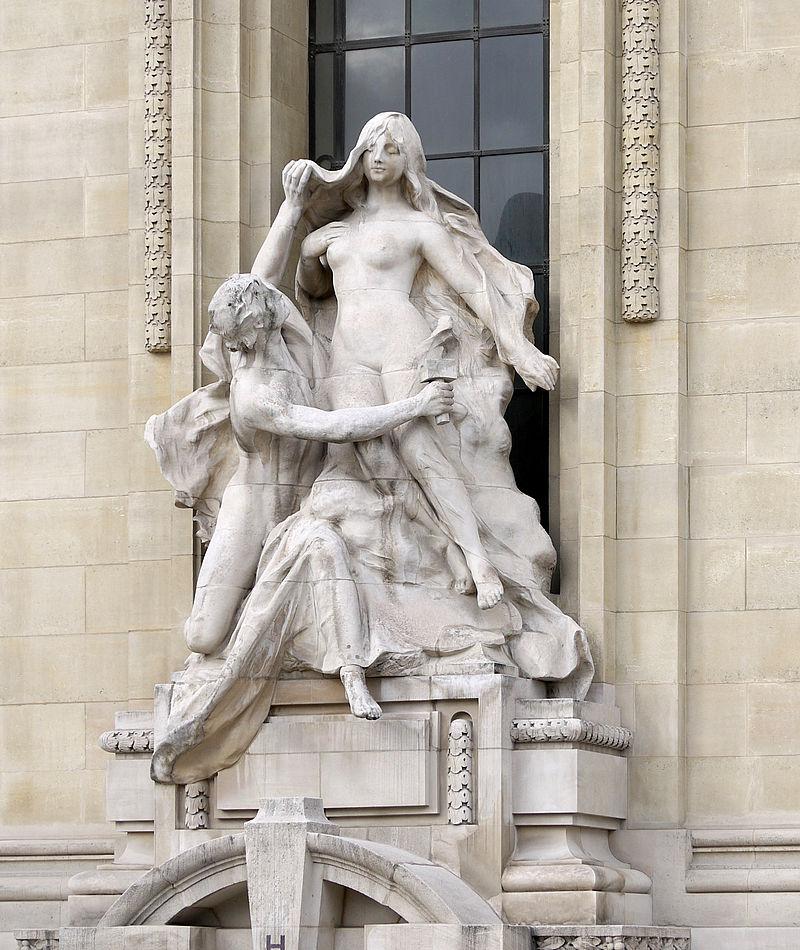 保罗·吉恩·巴蒂斯特盖斯克法国雕塑家Paul Jean Baptiste Gasq (French, 1860–1944) - 文铮 - 柳州文铮