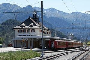 Scuol-Tarasp (Rhaetian Railway station) - Scuol-Tarasp station