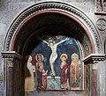 Scuola toscana, crocifissione e santi con stemmi monaldeschi, 1293, 01.jpg