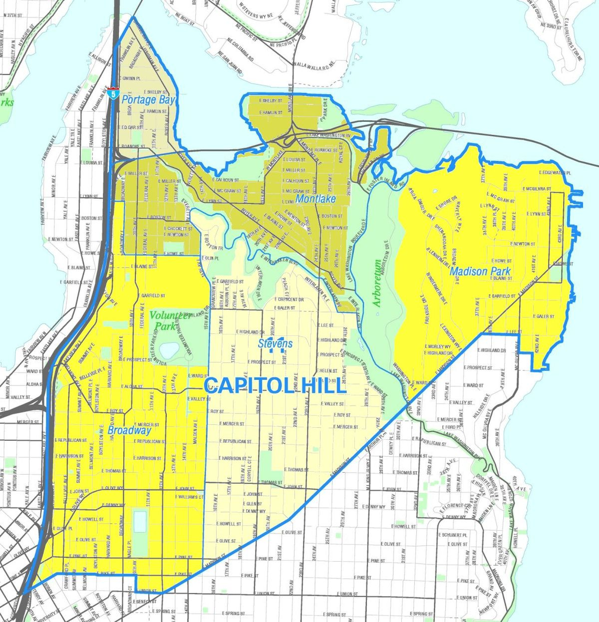 Capitol Hill Seattle Map File:Seattle   Capitol Hill map.   Wikimedia Commons