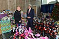 Secretary Kerry Listens to a Member of the U.S. Marine Corps at the Toys for Tots Ceremonial Presentation (23184211694).jpg
