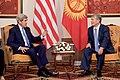 Secretary Kerry Meets With Kyrgyz President Atambaev in Bishkek, Kyrgyzstan (22454204010).jpg