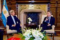 Secretary Kerry Sits With Argentina President Macri in the Casa Rosada in Buenos Aires (28687347661).jpg