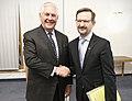 Secretary Tillerson Meets With OSCE Secretary Thomas Greminger at OSCE in Austria (24033093987).jpg