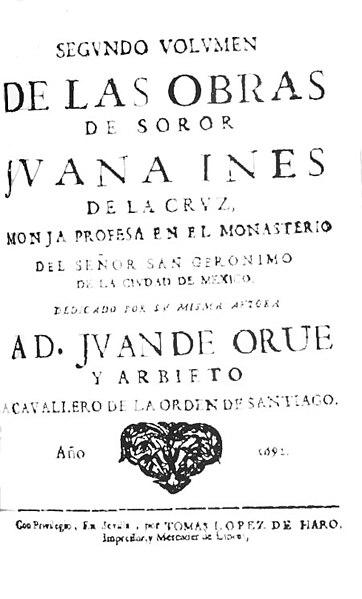 File:Segundo volumen de las obras de Sor Juana Inés de la Cruz.jpg