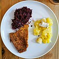 Seitan steak with red cabbage and potatoes.jpg