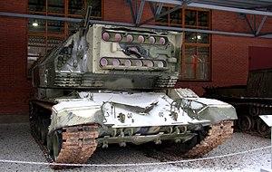 1K17 Szhatie - A preserved 1K17 Szhatie.