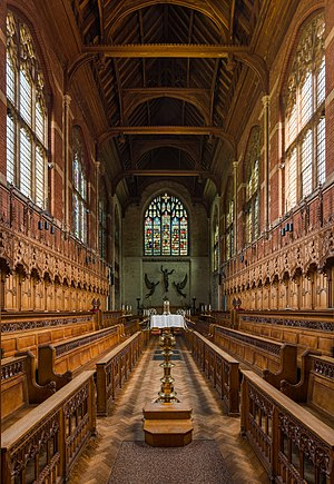 Selwyn College Chapel, Cambridge.