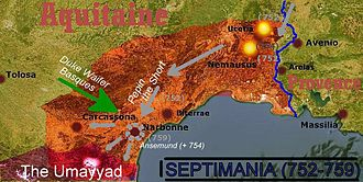 Septimania - Septimania during Pepin´s expedition (752-759)