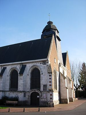 Sequedin - Image: Sequedin eglise cote