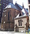 Serbian Orthodox Cathedral of St. Sava Clergy House and 26th Street facade.jpg
