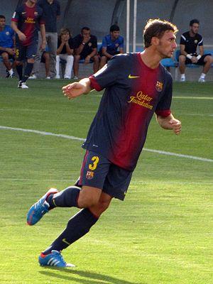Sergi Gómez - Gómez in action for Barcelona B.
