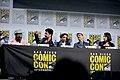 Seth Rogen, Dominic Cooper, Ruth Negga, Mark Harelik & Julie Ann Emery (48429530087).jpg