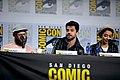 Seth Rogen, Dominic Cooper & Ruth Negga (48429530847).jpg