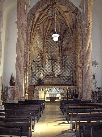 Monastery of Jesus of Setúbal - Nave and choir