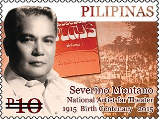 Severino Montano Filipino writer