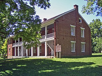 Shawnee Methodist Mission - Image: Shawnee Mission North bldg