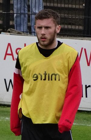 Shay McCartan - McCartan training with Accrington Stanley in 2014