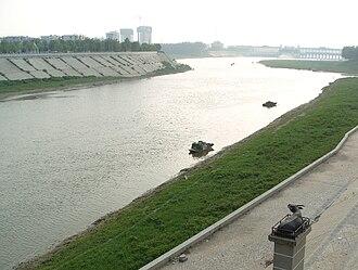 Zhoukou - Shaying River near downtown of Zhoukou City