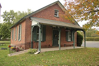 Richland Township, Bucks County, Pennsylvania - Little Red Schoolhouse