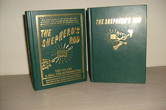 Shepherd's Rod - The Shepherd's Rod, Volume 1 and 2. The first publications of the Davidian movement, published in 1930 and 1932 respectively.