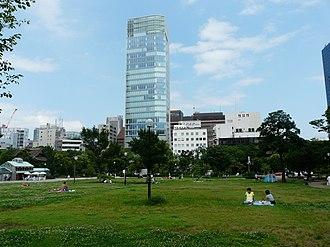 Shiba Park - Image: Shiba Park Minata Tokyo August 2014 08