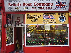 British Boot Company - British Boot Company shopfront