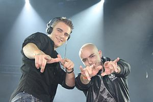 Showtek - Showtek at Static X Copenhagen in 2010